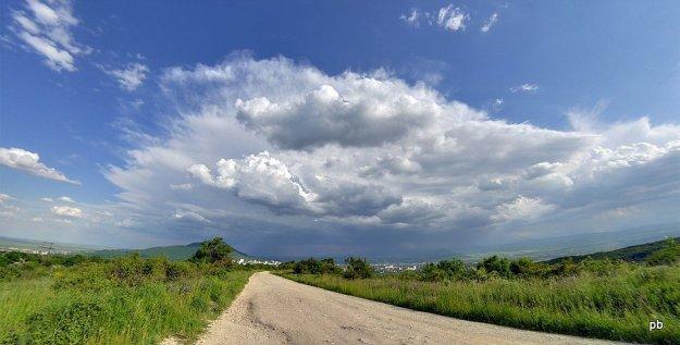 Грозовые облака над Пятигорском