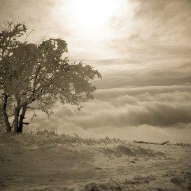Море облаков, вид с Машука