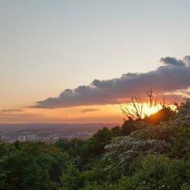 Летний закат на Машуке