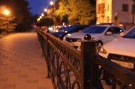 Улица Козлова, недалеко от Белого дома