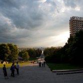 Лестница от Ленина к белому дому