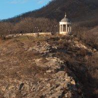 Эолова арфа, вид с горы Горячей