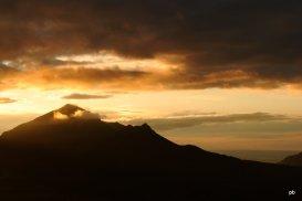Золотистые облака над Бештау