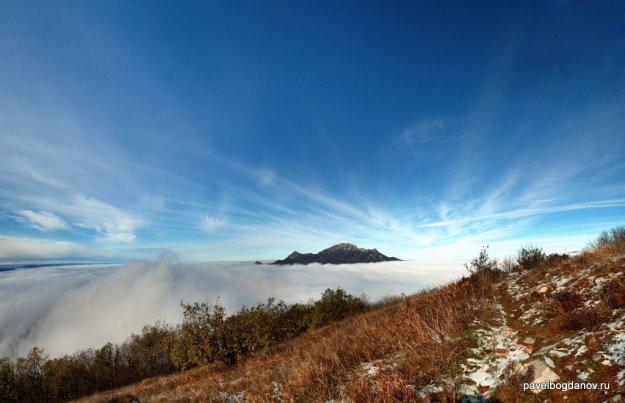 Осений Пятигорск Фото с вершины Машука