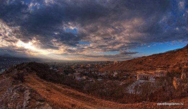 Фотография осеннего Пятигорска