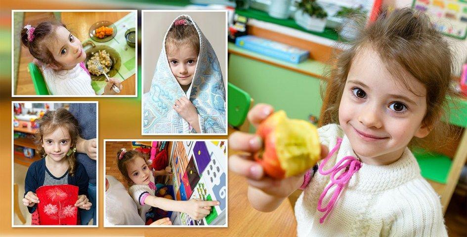 Детская игровая фотосессия в детском саду