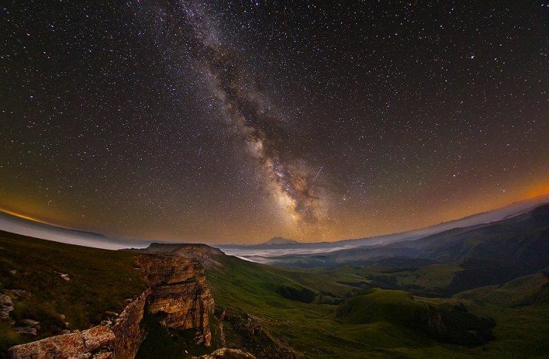 Вид с верхней части плато