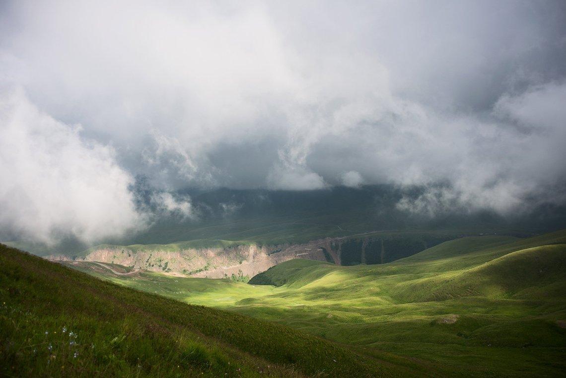 Туман и переменная облачность - чудесное время для фото