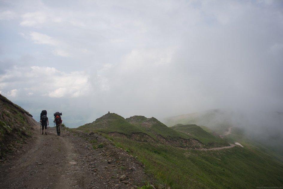 Путь в базовый лагерь Джилы-Су