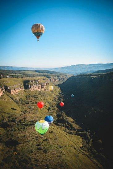 Воздушные шары в Кисловодске - фото