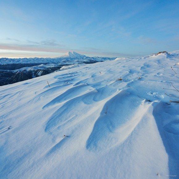 Рассвет на плато Шаджатмаз