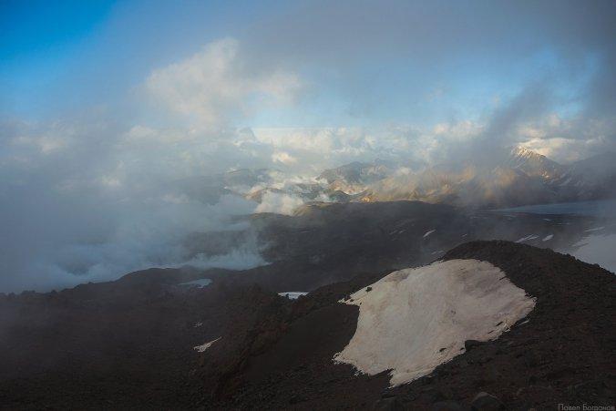 Вид с высоты 3800 на юго-восток