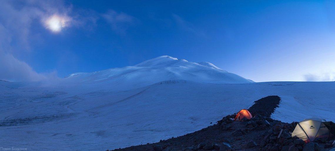 Эльбрус, вид с северо-востока