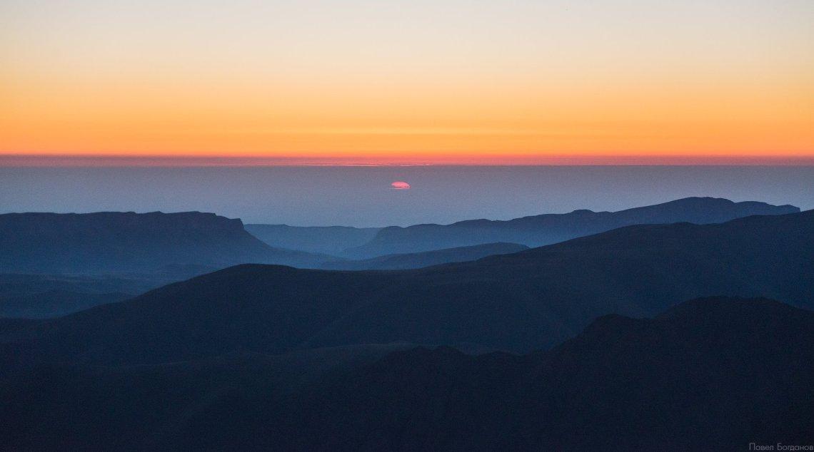 Рассвет в день восхождения