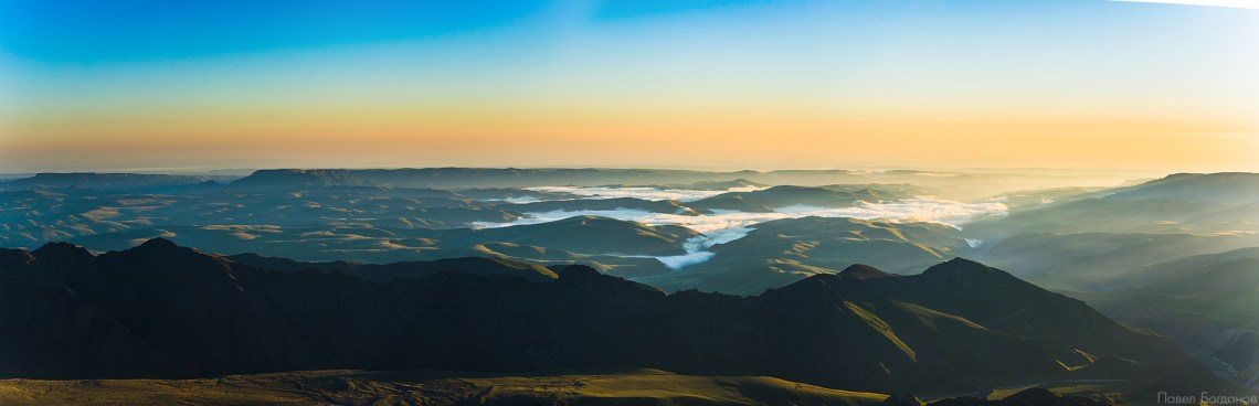 Рассвет в Джилы-Су