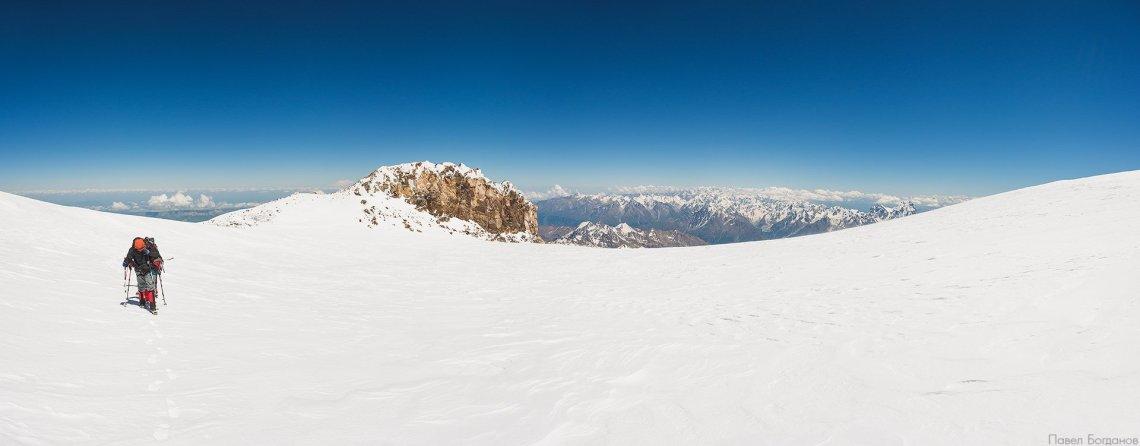 Завершающие сотни шагов к вершине Эльбруса