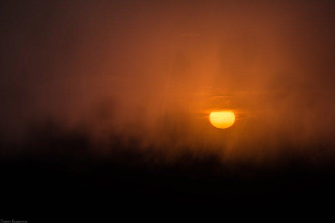 Закат на Бермамыте