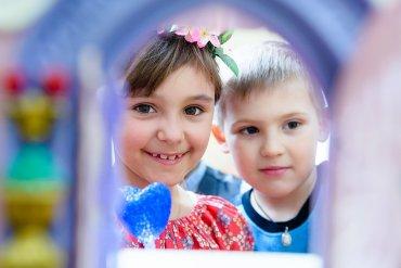 Детская игровая фотосъёмка в СПб