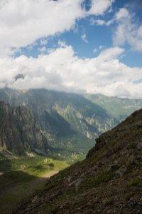 Вид со Скаазского ледника