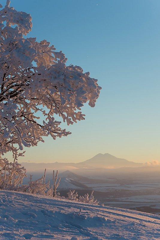 Закат на вершине Машука