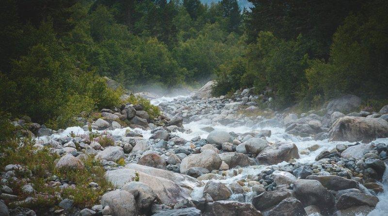 Пар от воды - река Цейдон