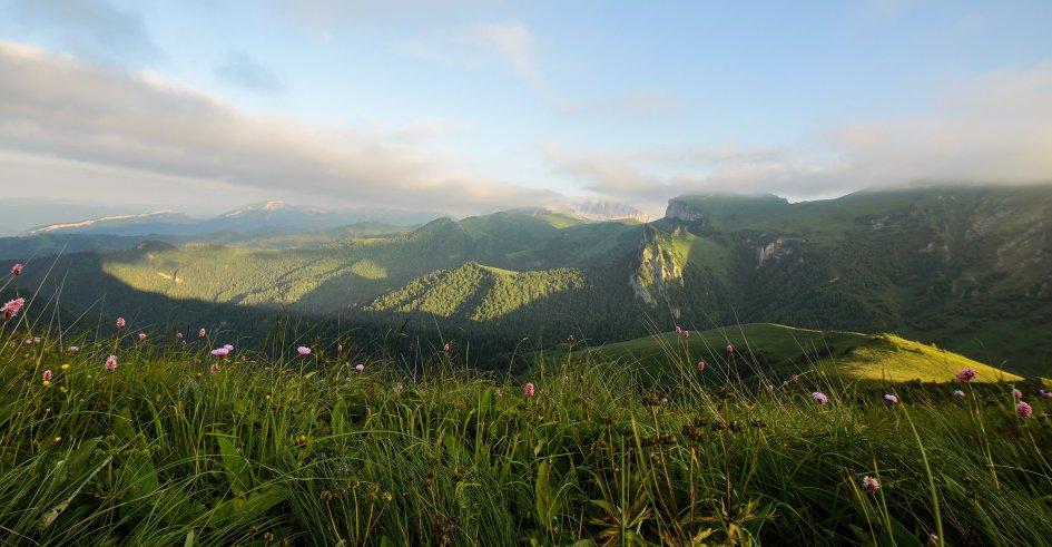 Обои - горы Кавказа