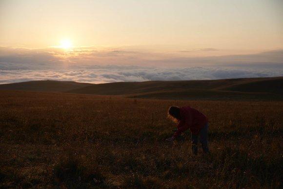 Низкая облачность в горах