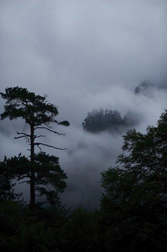 Облачная погода в Цее