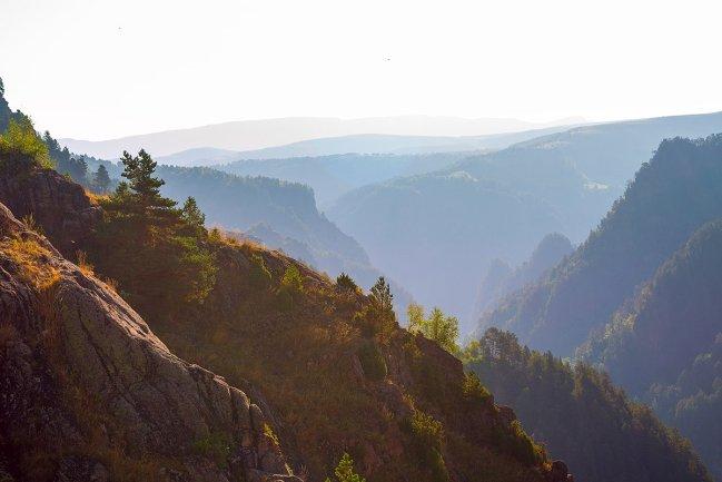 Горы по дороге в Джилы-Су