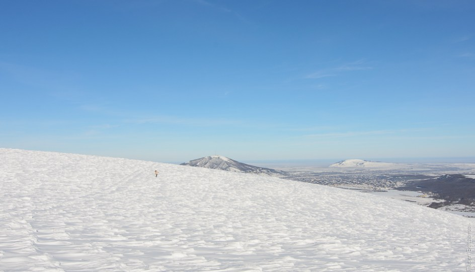Вид с Юцы в сторону Пятигорска