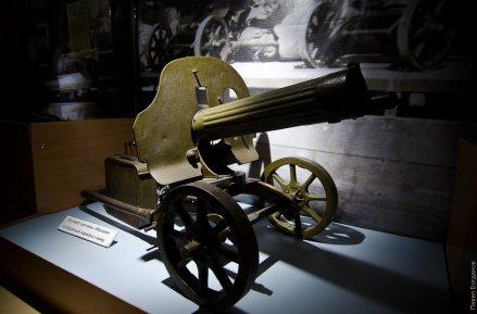 """Пулемет """"Максим"""" в Ставропольском музее"""
