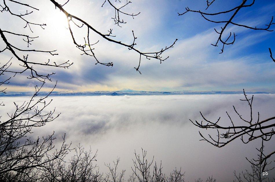 Над облаками - вид с Машука