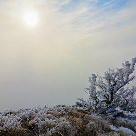 Зимний пейзаж Бештау