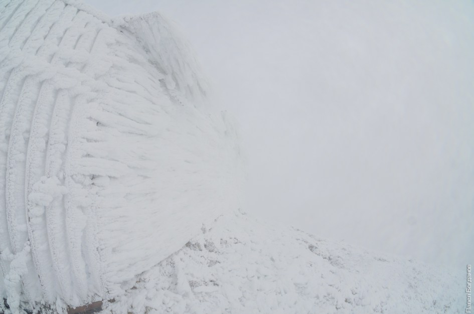 Зима на Бештау