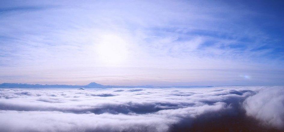Облака над Пятигорском