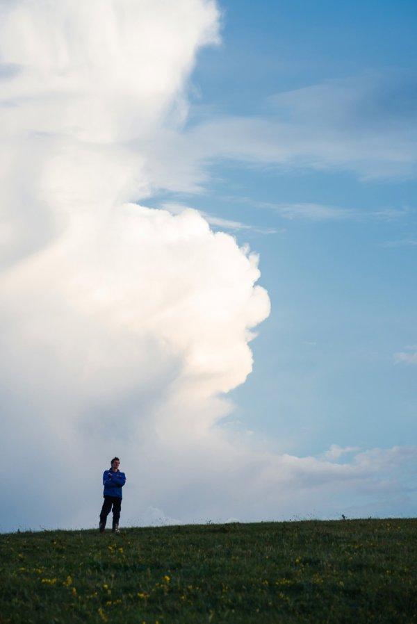 Облака за Юцой
