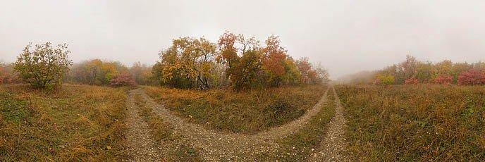 Туманная панорама на Машуке