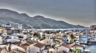 Pohled na Kokkari (Samos / Řecko | srpen 2012)