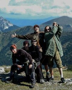 Muerta Mente band (Malá Fatra | září 2009)