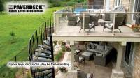 Upper Level Deck - Paverdeck