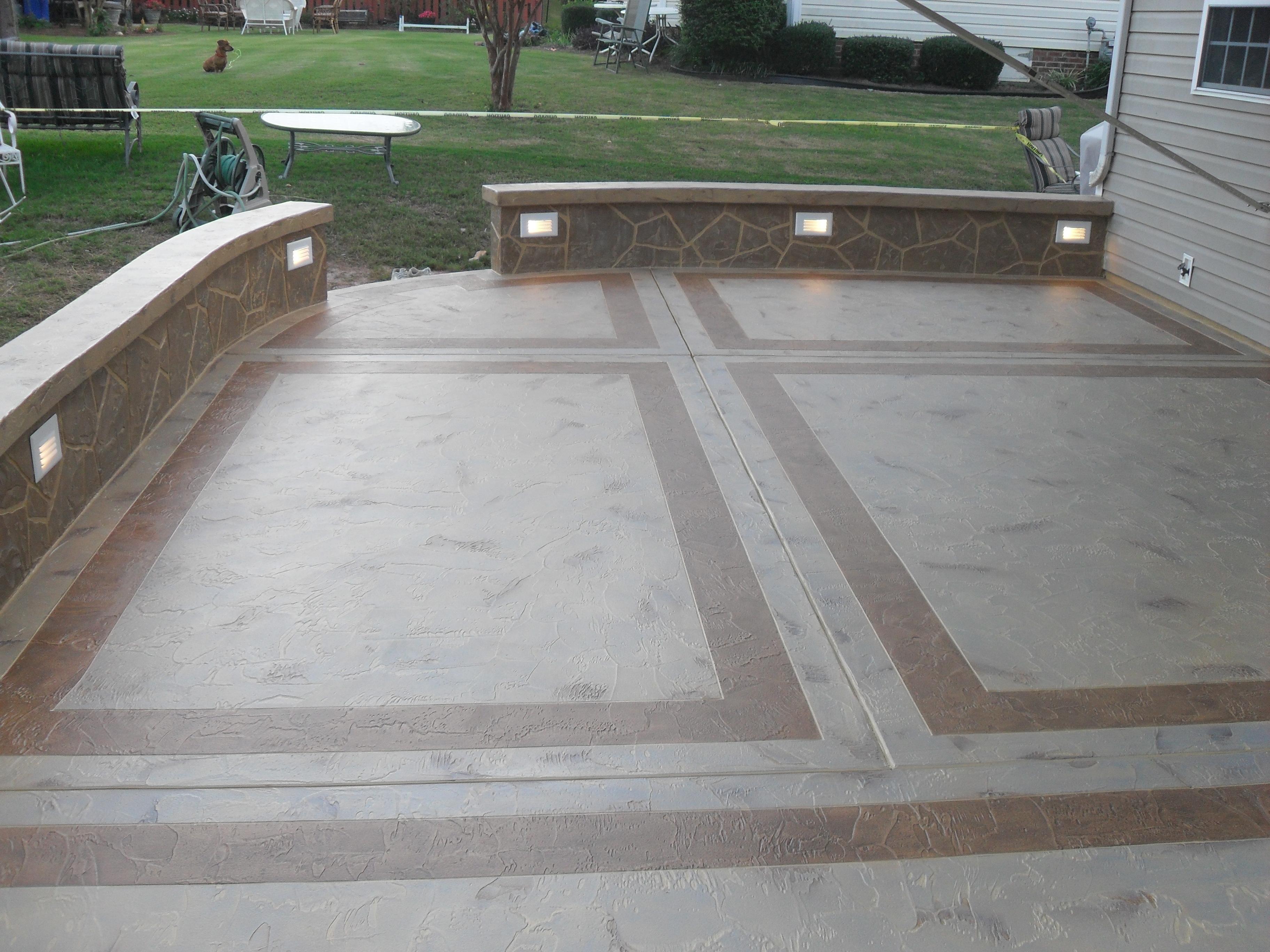 Concrete Patio Contractors Home Decor Interior Design