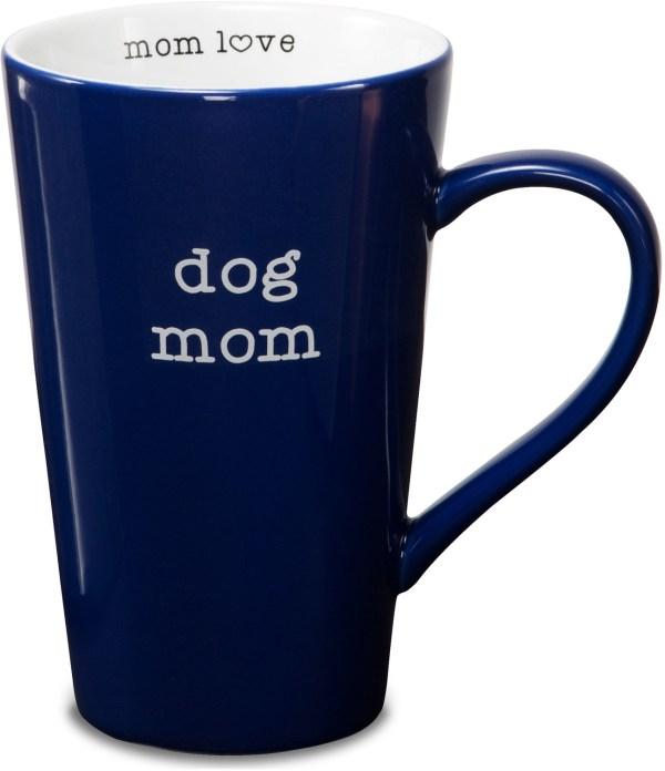 Dog Mom 18 Oz Latte Cup - Love Pavilion