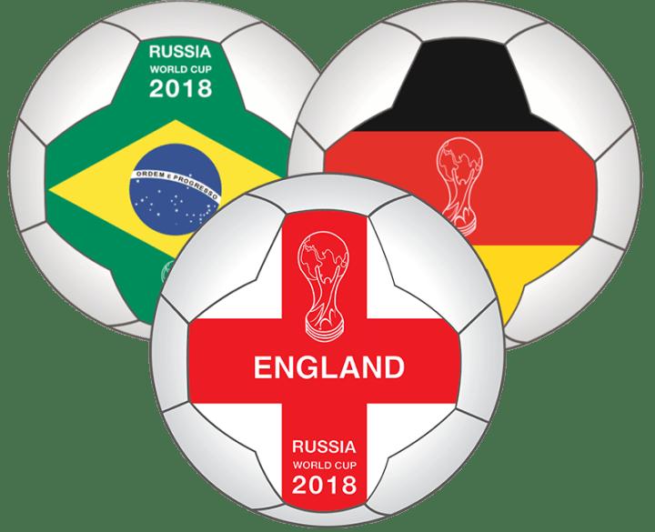 Customised World Cup Flag Footballs
