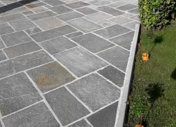 Piastrelle per esterno con gocciolatoio pavimenti per lesterno