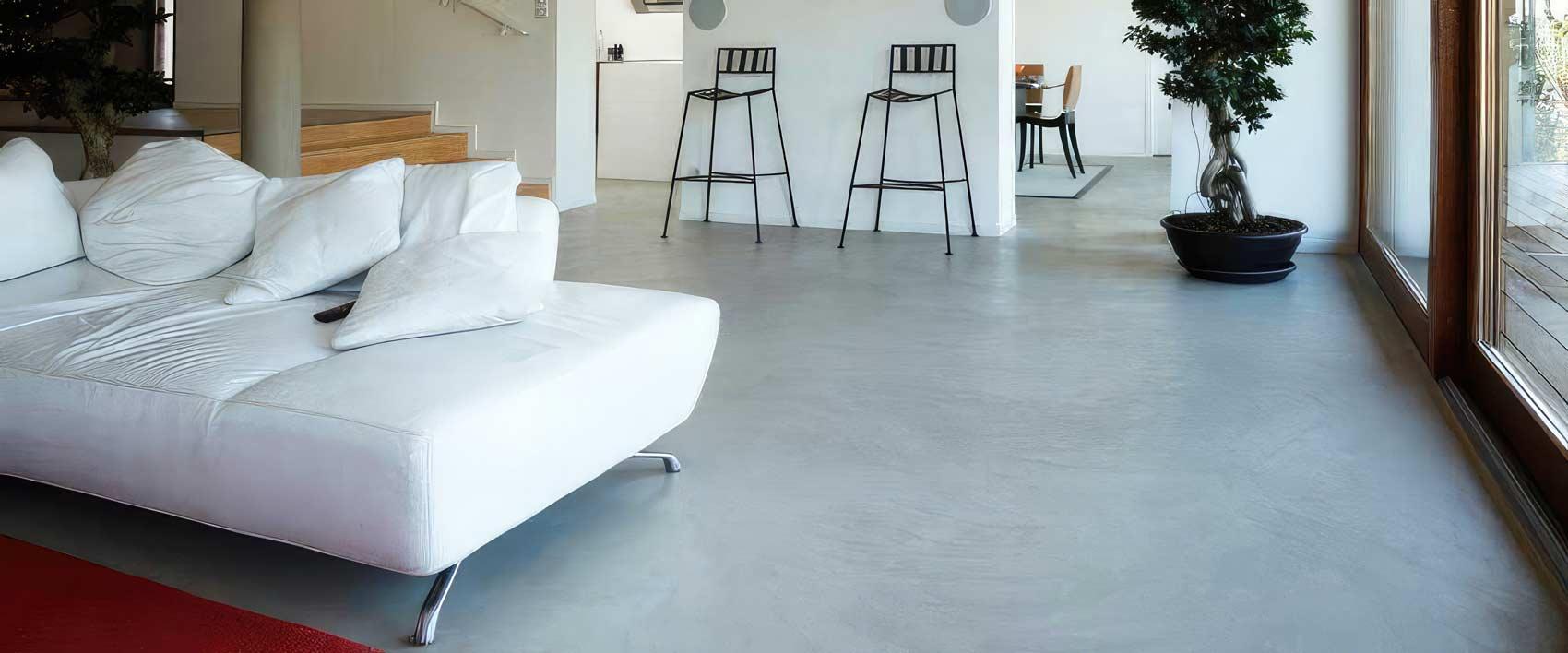 Differenza tra pavimento in resina e cemento di diverso tipo