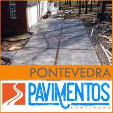 Hormigón impreso en Pontevedra