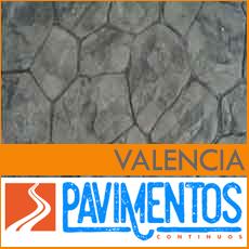 Hormigón impreso en Valencia