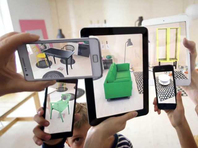 """Ikeina """"Uvećana realnost"""" je mobilna  aplikacija kojom virtuelno """"postavljate"""" proizvode ove kompanije u vaš prostor"""