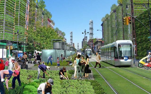 Njujorška avenija Amsterdam - umetnička vizija samoodržive zajednice u metropoli