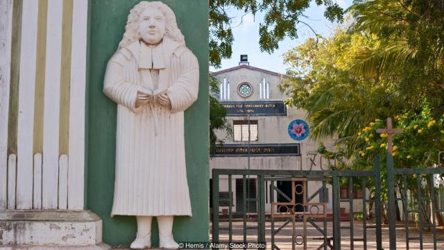 Većinu škola u Trankebaru vode konventi i crkve. Foto: Hemis / Alamy Stock